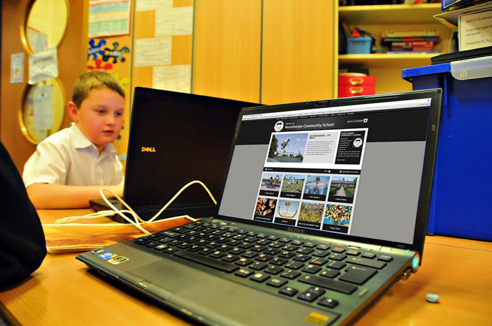 We build visually impressive websites for schools and education establishments.