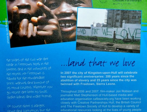 Our Sierra Leone – Freetown Films