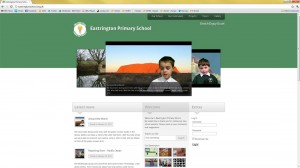 site design for www.eastringtonschool.org.uk