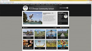 site design for www.nunsthorpecommunity.org