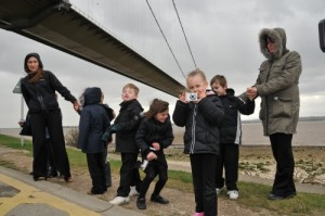 Photography trip to the Humber Bridge