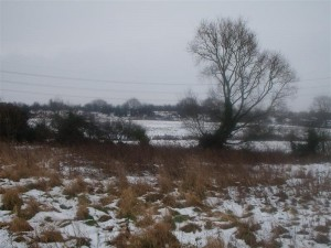 Winter snow in Barmby