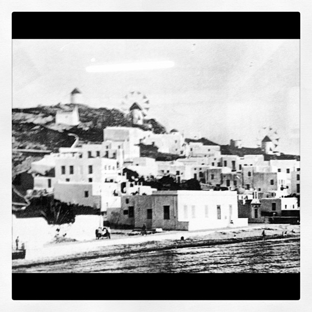 Old school Mykonos