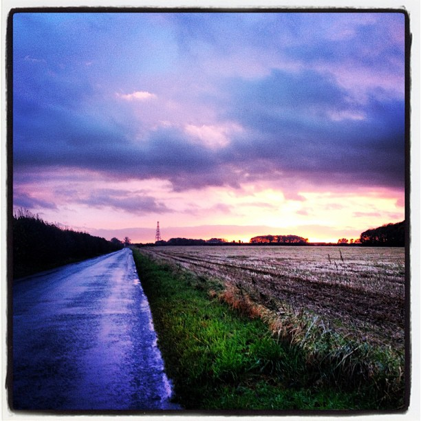 Drive home from Ulceby