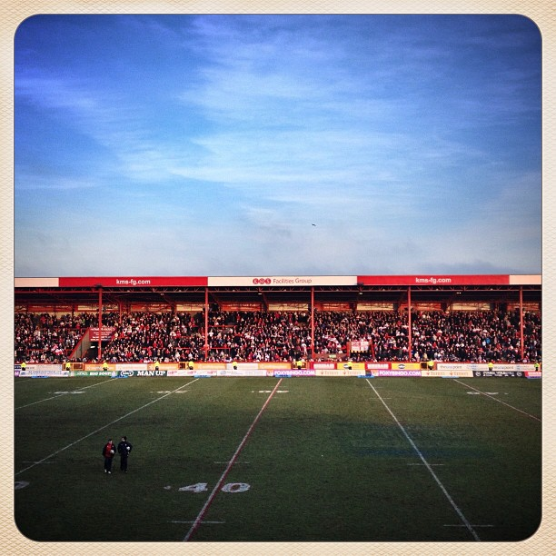 Craven Park on a Sunday afternoon