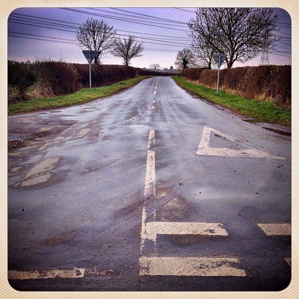 Road to Ulceby - NE Lincs