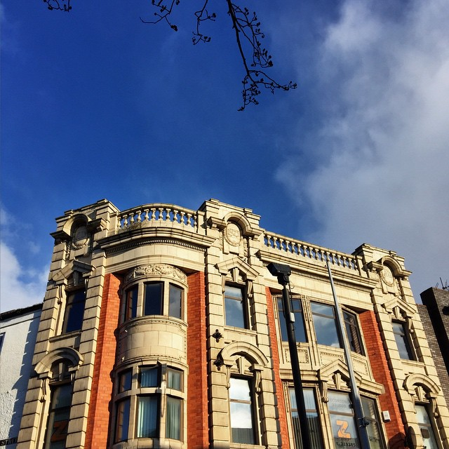 Once you raise your eyes above the level of the £ shops, our buildings are amazing !#hullbuildings #hull #citycentre
