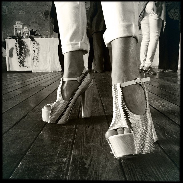Shoes on show