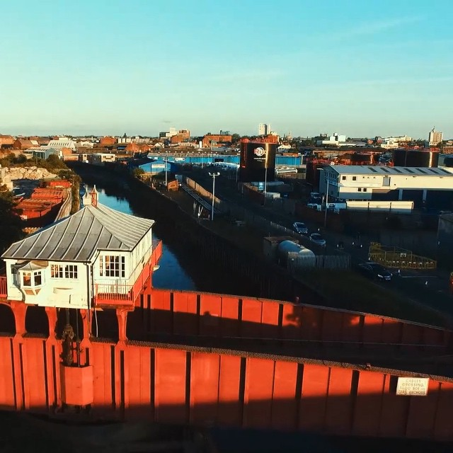 Some more test footage of #Hull #hullbuildings #drone #dji