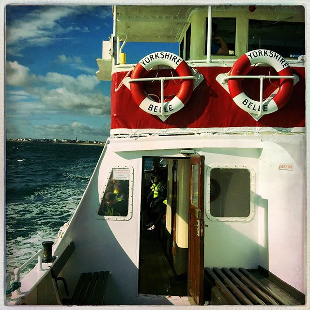 School trip on the Yorkshire Belle #Bridlington